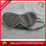 スリープヘルスケアのサテンEyemask/Eyepatchの柔らかい航空会社Eyemask