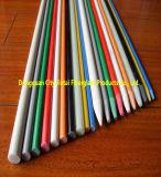 Poste caliente de la fibra de vidrio de Pultruded de la venta para el soporte postes de los viñedos