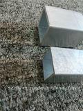 Profil en aluminium personnalisé de tuyauterie de qualité d'extrusion