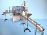 Máquina de etiquetado de relleno de la botella y que capsula linear de la máquina