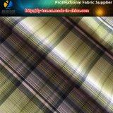 Super suave de poliéster de la siesta Aty hilados de distintos colores Compruebe Shirting Tela (YD1163)