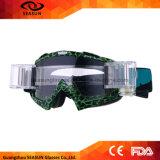 Fabrik-bester Qualitätswindundurchlässiger Motocross-Gang-schützendes UVmX, das Motorrad-Sicherheitmotocross-Schutzbrillen läuft
