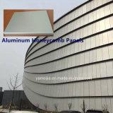 10 mm de aluminio de nido de abeja Paneles Los paneles de emparedado de panal para la pared de cortina