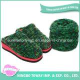 Chaussures de Knit de poussoir de gaines tissées par main de qualité