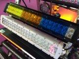 Cubierta plástica de la venta caliente para la barra ligera del LED roja/azul/ámbar/negro