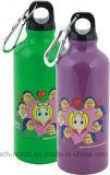 Бутылка воды бутылки спортов алюминиевая с Carabina (R-4027)
