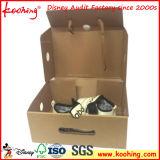 Faltbarer gewölbter Kasten-Schuh-Kasten-verpackenkarton-Kasten mit kundenspezifischem Drucken