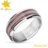 Vuelta de encargo del anillo de la joyería de la manera Str-073