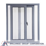 Austrália Standard Double Glazing Aluminium Sliding Mosquito Screen Door and Window