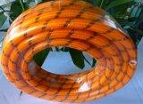 Boyau transparent à haute pression de PVC