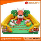 Bouncer di salto gonfiabile del parco di divertimenti del castello del giocattolo gonfiabile della Cina (T6-450)