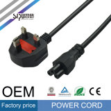 Euro E. - câble européen d'alimentation AC de Pin de la fiche 2 de Sipu