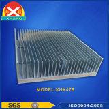 China-Zoll verdrängte Aluminiumprofil-Kühlkörper-Fertigung