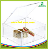 Clear Acrylic Box with Lock