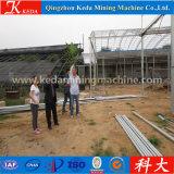 Invernadero galvanizado vidrio directo de Cabage del jardín del tubo de la fábrica para la venta