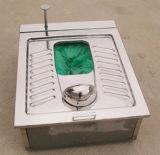 Напольный собранный туалет черни Автоматическ-Упаковки