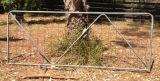 Puerta galvanizada sumergida caliente de la granja para la venta
