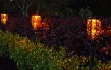 Lumière solaire de pelouse de lumière solaire de jardin avec le capteur de lumière