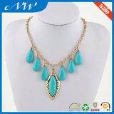 De Juwelen van de manier passen Turkooise Halsband aan