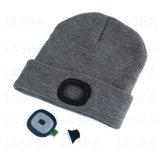 Sombrero recargable de la venta superior LED