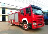 8ton HOWOシャーシの水漕の消火活動の普通消防車