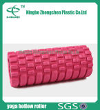 Rouleau creux de mousse de massage de muscle d'exercice de réseau de Crossfit de rouleau de yoga