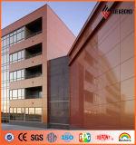 El panel compuesto de aluminio de los espectros nanos de alta tecnología con la capa del PE de PVDF