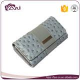 Бумажники и портмона перемещения муфты женщин RFID роскошные кожаный