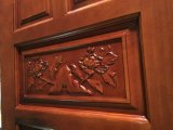 Porte en bois de chambre à coucher bon marché moderne inter (GSP2-032)