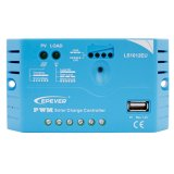 Epever 10A PWM Solarladung-Controller 12V/24V Aotu mit USB der Solaraufladung