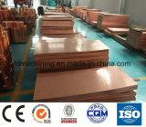Hoja de cobre 99.99% de C 11000 para la fabricación industrial