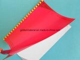 Copertina di libro superiore del banco del PVC del coperchio del grippaggio dello strato del PVC di Quanlity