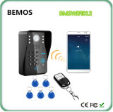 Телефон двери WiFi беспроволочных видео- квартир дверного звонока Multi видео-