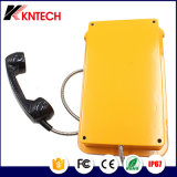 Telefono impermeabile Phonedisplay industriale Kntech Knsp-16 di VoIP del telefono di SIP del telefono con affissione a cristalli liquidi