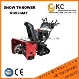 Трудолюбивый сверхмощный метатель плужка снежка нефти 9HP 252cc с следом треугольника резиновый для сбывания используемого в зиме