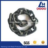 Catena a maglia ad alta resistenza annerita dell'acciaio legato G80