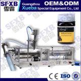 Por completo máquina de embotellado semi automática doble neumática del tarro de la miel de la abeja de la pista Sfgy-2000