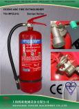 CE 6KG المعتمدة ABC مسحوق جاف طفاية حريق