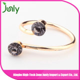Últimas jóias das senhoras Anel de diamante anel de dedo anelar