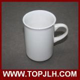 Tazza di ceramica bianca di superficie lucida liscia di Aboraal