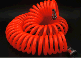 El Ce espiral neumático del manguito de aire de la PU, RoHS confirmó
