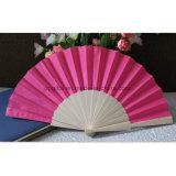 Douane die de Ventilator van de Hand van de Dames van het Bamboe vouwt