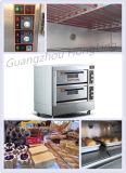Kundenspezifischer Handelsbäckerei-Geräten-Doppelt-Plattform-elektrischer Ofen für Verkauf