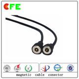 C.C 12V imperméabilisent le cable connecteur magnétique pour la machine de laser
