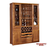 Governo solido del vino rosso della quercia della mobilia domestica moderna (GSP9-055)