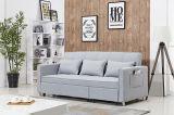 現代ホーム家具のコーナーのソファーのChaiseが付いている折るソファーのソファの眠る人のベッド