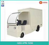 Fait dans le camion en forme de boîte électrique de capacité de charge de la Chine 1.0ton