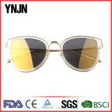 2017 nuevas gafas de sol de la protección de las lentes UV400 del claro de la manera (YJ-F83601)