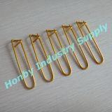 Английская булавка отметки стежком цвета золота алюминиевая