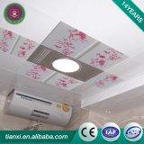Декоративная крытая панель потолка PVC материала приспособленная для живущий комнаты & спальни